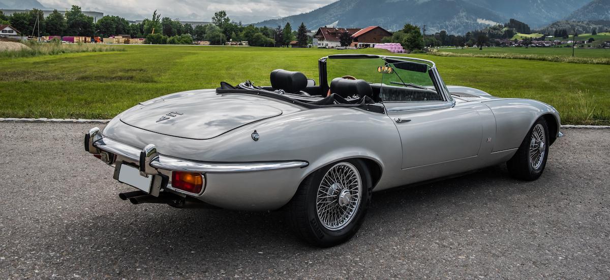 Oldtimer-Vermietung-Allgaeu-Jaguar-e-Typ-Cabrio